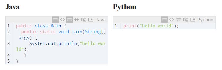"Java vs Python: Tried and True vs ""Modern and New"""