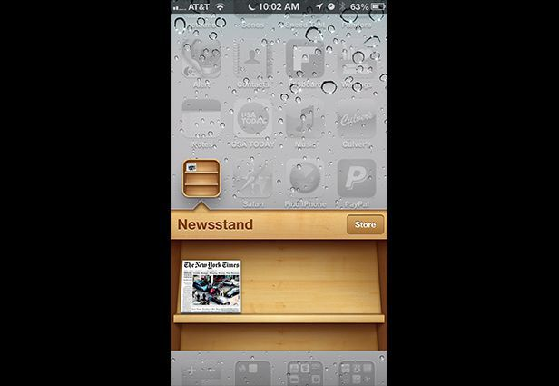 IOS app design: Newsstand