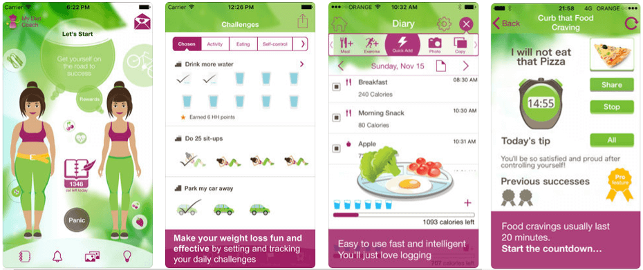 My Diet Coach iOS
