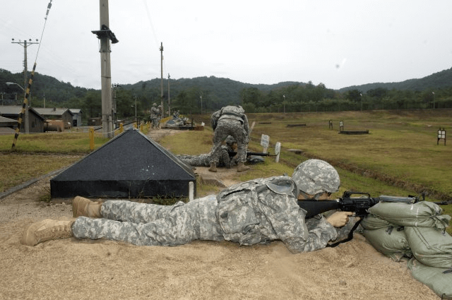 Soldier training