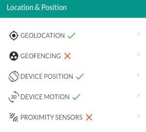Mobile app vs mobile website: Android Chrome location and position
