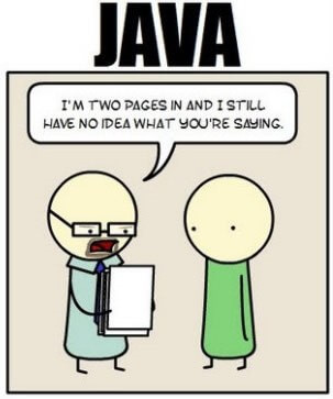 Verbosity of java