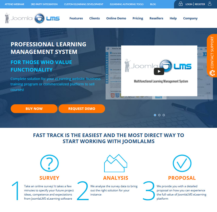 E-Learning community support