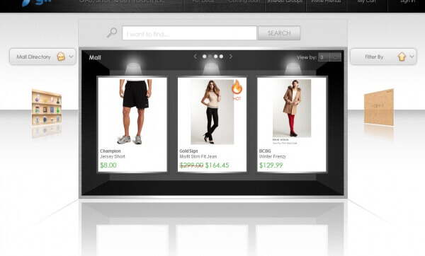Online Web Store for Marketing With Social Media