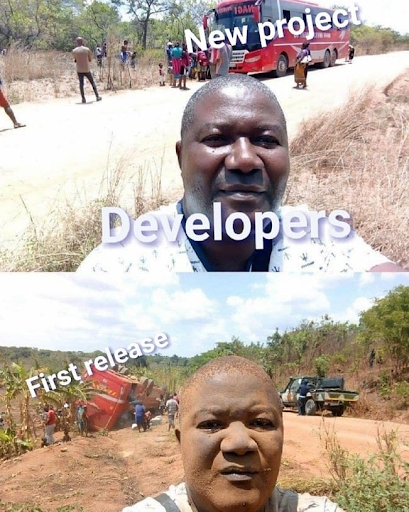 new project and first release meme