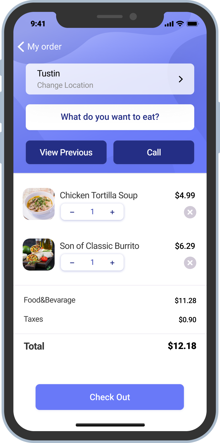 Restaurant mobile app development by Belitsoft experts